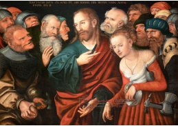 D-5950 Lucas Cranach - Kristus a cizoložnice