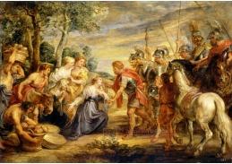 D-7557 Peter Paul Rubens - Setkání Davida a Abigail