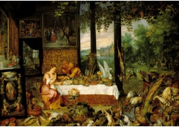 BRG-133 Jan Brueghel a Peter Paul Rubens - Alegorie chuti