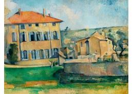 D-6172 Paul Cézanne - Dům v Aix-en-Provence